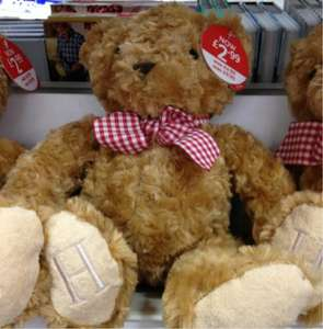 Traditional Teddy bear - reduced from £9.99 to £2.99 instore@WH Smith
