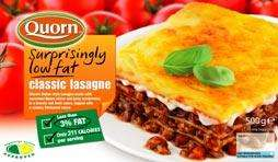 Quorn Low Fat Lasagne only £1 at Heron Foods
