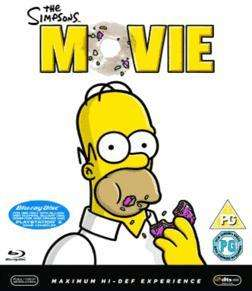 The Simpsons Movie (Blu-ray) - £5.99 Delivered @ Gamestation