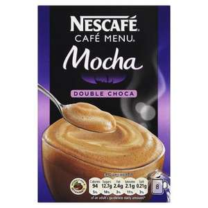Nescafe double choca mocha coffee tesco* £1.50