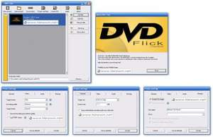 DVD Flick - Convert\Create DVD's from any files inc avi mkv files etc