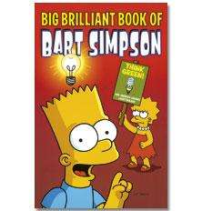 Big Brilliant Book Of Bart Simpson (Paperback) only £1.50 delivered @ The Book People