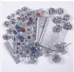 127-Piece Bumper Christmas Gift Wrapping Set £1.00 Click'n'Collect @ Very/Woolworths