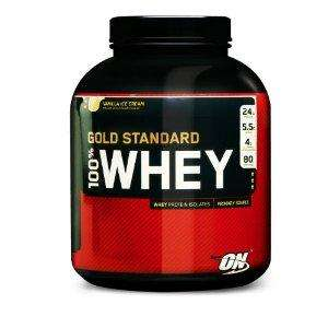 Optimum Nutrition Strawberry 100% Gold Standard Whey Protein 2.2Kg - £35.10 @Amazon (Subscribe & Save)