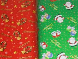 christmas wrapping paper 10 for a £1 @ card factory and cards all half price instore