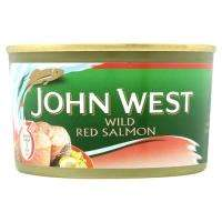 Sainsburys - John West Tinned Wild Red Salmon - £1