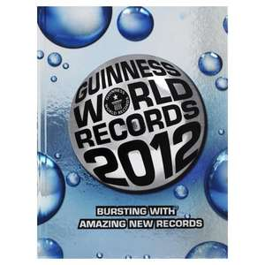 Guinness Book of Records 2012 (Kindle Edition) - 99p @ Amazon