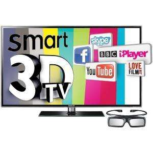 "SAMSUNG LED 3D 40"" TV (UE40D6530WKXXU) including 4 pairs of Glasses  £649.99 @ Comet"