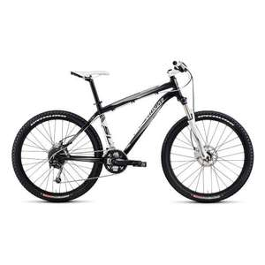 "Specialized Rockhopper Black/White - 19"" & 21"" 2011 Mountain Bike from McConvey Cycles"