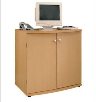 Beech Effect Hide Away Computer Desk, 1/2 Price @ Argos