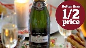Henry Dumanois Brut Champagne 75cl £12 @ Sainsbury's