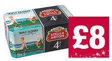 Stella Artois 15 x 440ml cans only £8.00 - Bargain @ The CO-OP