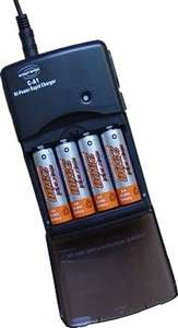 4 x AA Reghargable 2500 batteries & 2.5h Charger £6.50. Yourspares.co.uk/