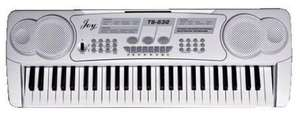 JOY TS-632 54 KEYS MULTIFUNCTIONAL ELECTRONIC KEYBOARD £12.50 instore only at Tesco. Was £50.00 then £25.00 now £12.50.