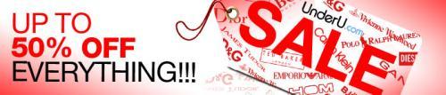 UnderU.com January sale 20-50% off