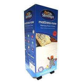 Silentnight memory foam 3 zone mattress - CHEAPEST EVER?! cheaper than lightening deal - 3 sizes available from £81.99 @ Dunelm Mill