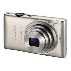 Canon Ixus 220 HS Digital Camera in Silver/Black Jessops £109 (inc Cashback)