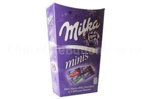 Milka Mini Chocolate bars. 330g pack for £1.50 ASDA