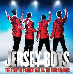 Jersey Boys Tickets £20.12 Plus £3.50 booking fee @ Delfont Mackintosh Theatres