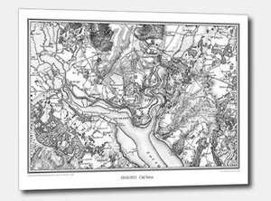 FREE A3 printed historical map worth £15.95 -  pay just £3.49 p&p (Saga magazine offer)