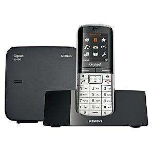 Siemens Gigaset SL400A Digital Cordless Phone and Answer Machine - £79.95 Delivered @ John Lewis