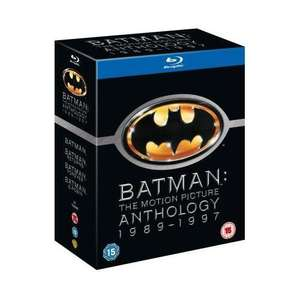 Batman: The Motion Picture Anthology 1989 - 1997 (4 Disc) (Blu-ray) £10.99 @ Play.com