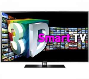 Samsung UE40D6530 LED HD 1080p 3D TV, 40 Inch, Freeview HD with Built-in Wi-Fi  £649 + Free 5 year guarantee @ John Lewis