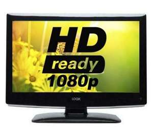 "currys £129.99 LOGIK L24DVDB21 Refurbished 24"" Full HD LCD TV"
