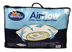 Silentnight Breath Easy Orthopaedic Support Pillow Airflow Pillow £5.99 @ poundstretcher