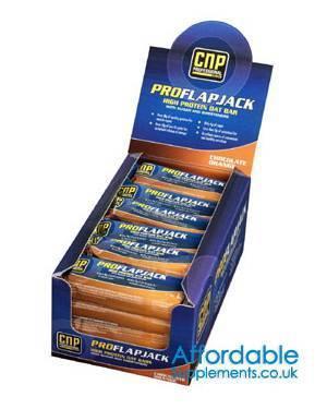 CNP Pro-Flapjack Bars (24 pack) £16.99 DELIVERED @ affordable supplements (Just 70p each)