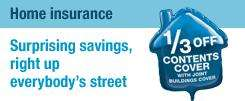Co-op Home Insurance: 1/3rd off contents when taking home, home emergency cover for 12p, free legal cover