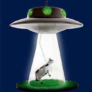 Alien Abduction Lamp at Find Me A Gift £36.94 with postage