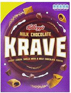Krave Milk chocolate cereals Asda 3 for £3