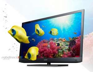 Sony 3D Smart TV KDL40EX723 + Free HDMI Cable! £499 @ RGB direct