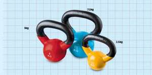 Kettle bells from £4.99 @ aLdi's
