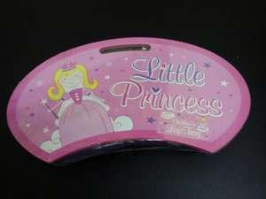 Little Princess Pink Girls LAP TRAY with Bean Bag Cushion 10p @ B&M