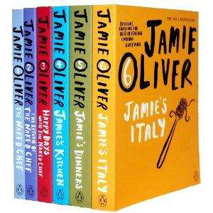 Jamie Oliver cookbooks - 2 for £5 instore @ Sainsburys