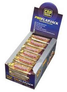 CNP Pro Flapjack Bars 24 Protein bars for £13.94 shipped with code