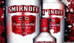 Smirnoff Vodka: Mini Gift Set - 5cl Bottle & Chocolates - **£1.00** @ Asda (In-Store)