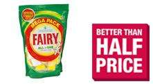 Fairy All in One 51 Dishwasher Tablets Lemon £5 @ The Co-operative Food