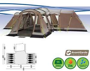 Outwell Maryland XL - 10 man tent, £1000 reduced to £470 delivered (w. 6% QUIDCO) @ Yeomans Outdoors
