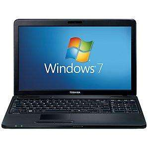 "Toshiba Satellite C660-2EV Laptop, Intel Core i5, 1.4/2.3GHz, 6GB RAM, 640GB, 15.6"", Black £429 @ John Lewis"