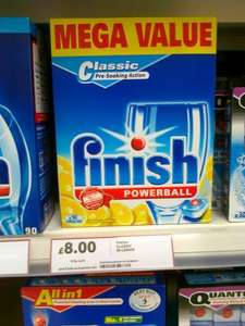 Finish Powerball dishwasher tablets 90 for £8 @ Tesco