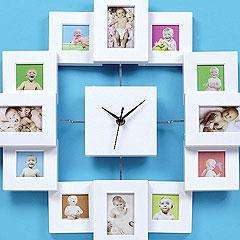 Photo Frame Clock - £12.20 Delivered @ Yellow moon