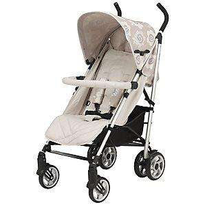REDUCED TO CLEAR.  Celia Birtwell Lightweight Stroller   Shadow or pebble   (Was £140 / Now £42) delivered @ John lewis
