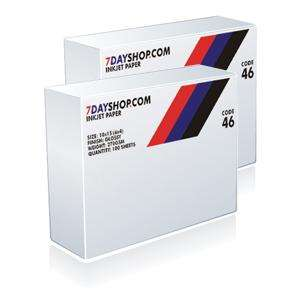 "7dayshop Inkjet Paper - 10 x 15cm (6 x 4"") Glossy Super Heavyweight 270gsm - 100 Sheets - TWIN PACK- £9.99@7dayshop"
