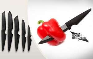 Edge of Belgravia Ceramic Onyx Kitchen Knives for £105.98 delivered (Normally £264.50) @ KGBDeals