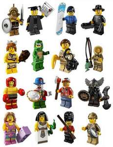 Lego Collectible Minifigures BOGOF £2 at Sainsburys