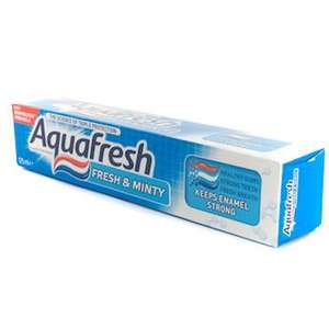125ml Aquafresh Toothpaste £1 @ Poundland Normal Size is 75ml