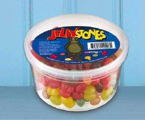Jelly Stones 350g (Jelly Bean Factory Misshapes) - 99p instore @ Home Bargains